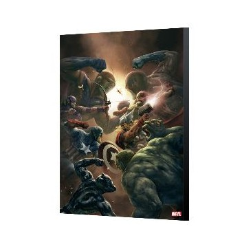 AVENGERS COLLECTION - NEW AVENGERS 43 - ALEKSI BRICLOT - 24x36cm
